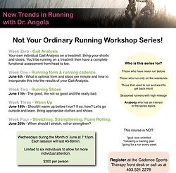 New Trends in Running with Dr. Angela