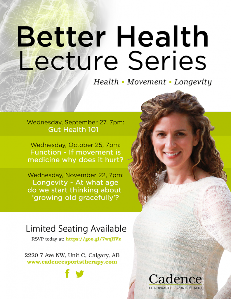 Better Health Lecture Series Poster